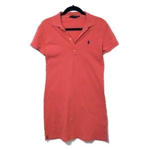 Ralph Lauren Polo Dress Salmon Pink